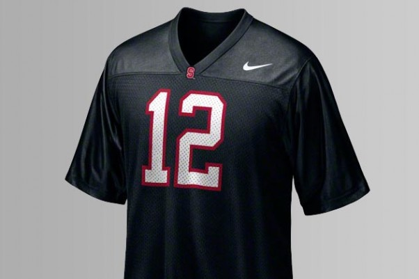 Black Stanford Football Jersey